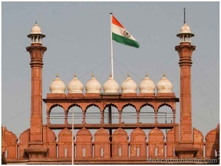 Red Fort in Delhi - India