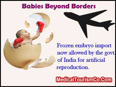 India Allows Embryo Imports
