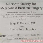 Dr. Esmeral Certificate 1