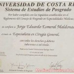 Dr. Esmeral Certificate - 14