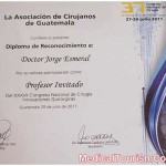 Dr. Esmeral Certificate