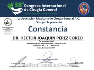 Dr. Hector Perez - International Congress of General Surgery