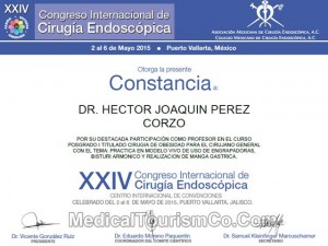 Dr. Hector Perez - Professor for course on Obesity Surgery