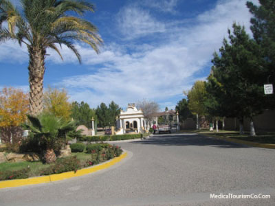 Entrance Homes Subdivision Near Hospital Angeles