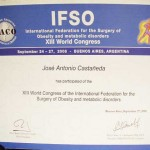 IFSO Certification - Dr. Castaneda Cruz