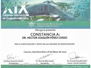 Mexican Association of Endoscopic Surgeons - Dr. Hector Perez