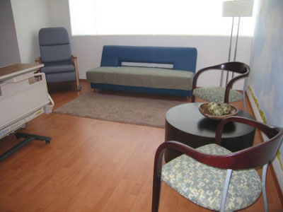 Private Suite at Hospital Angeles