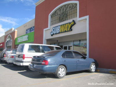 Subway nr. hospital Angeles