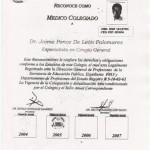 Dr. Ponce Surgeon Degree