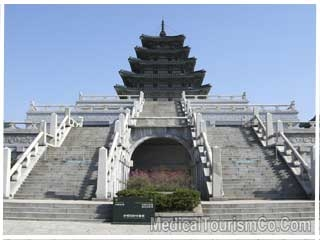 Ancient Building at the Palace of Korea
