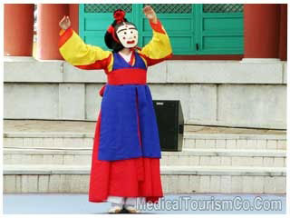 Traditional South Korean Performance in Seoul