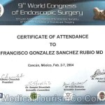 Endoscopic Surgery Certificate