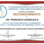 Laparoscopic Adjustable Band Certification - Dr. Gonzalez Tijuana