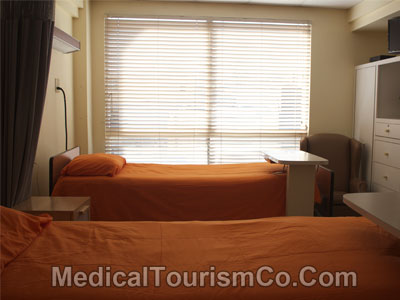 Patient Room - Modera Hospital - Tijuana