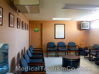 Waiting Area - Hospital Modera in Tijuana
