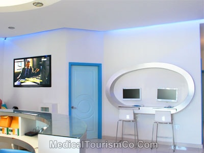 Waiting Area - Sani Dental Clinic