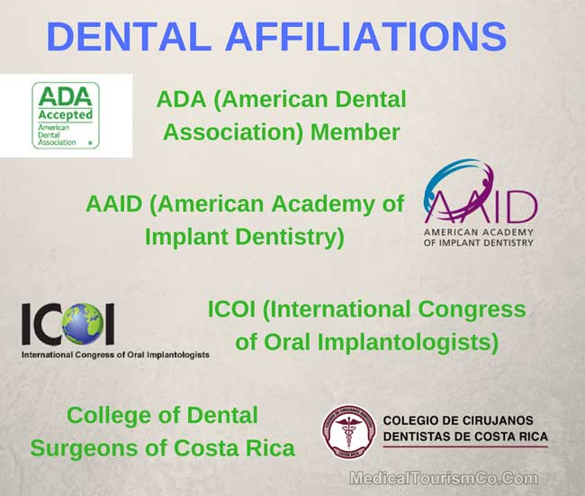 Dental Affiliations