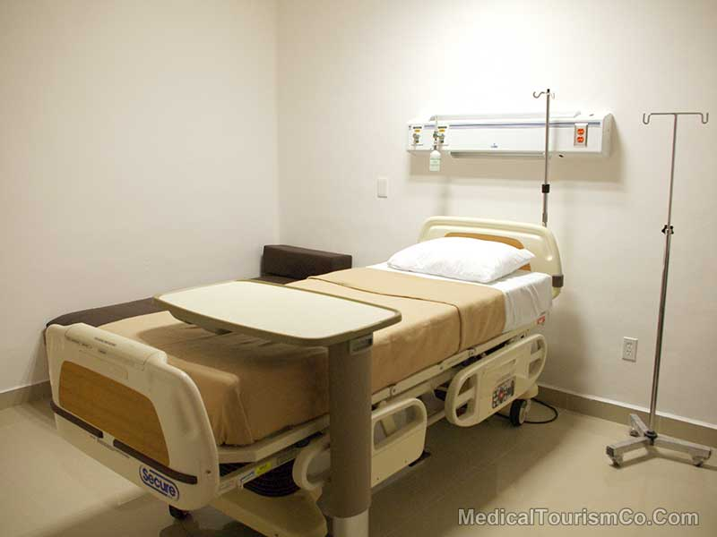 Gastric Bypass In Cancun - Hospital Room