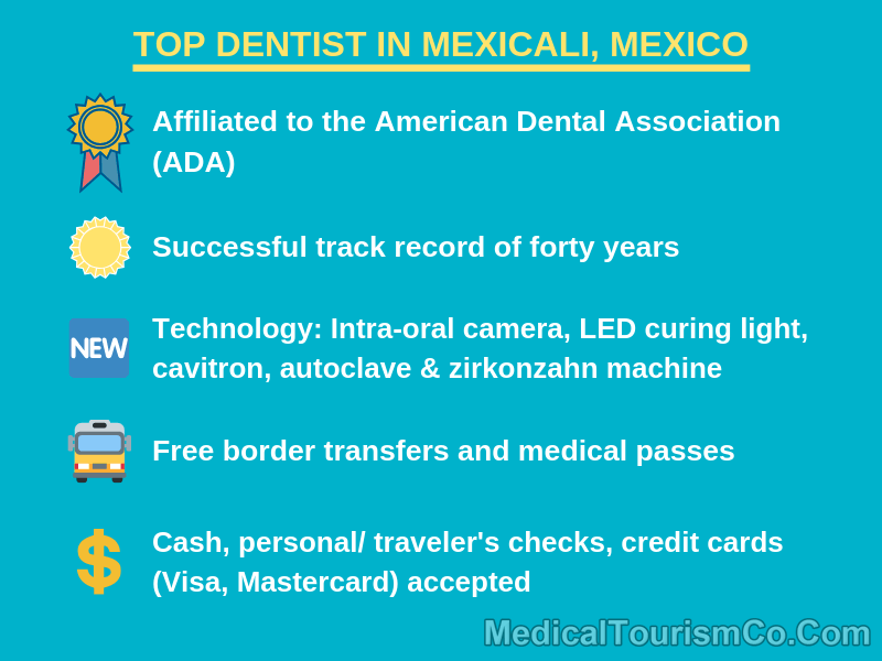 Top Dentist in Mexicali Mexico